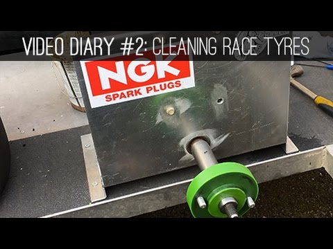 Video Diary #2: Cleaning your race tyres