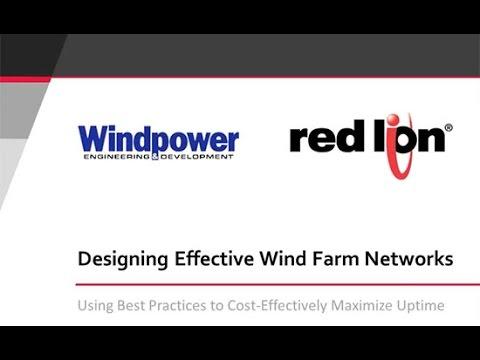 Designing Effective Wind Farm Networks