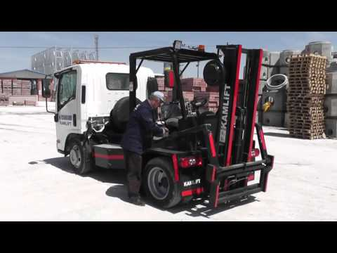 The latest and the most unusual forklifts of 2016