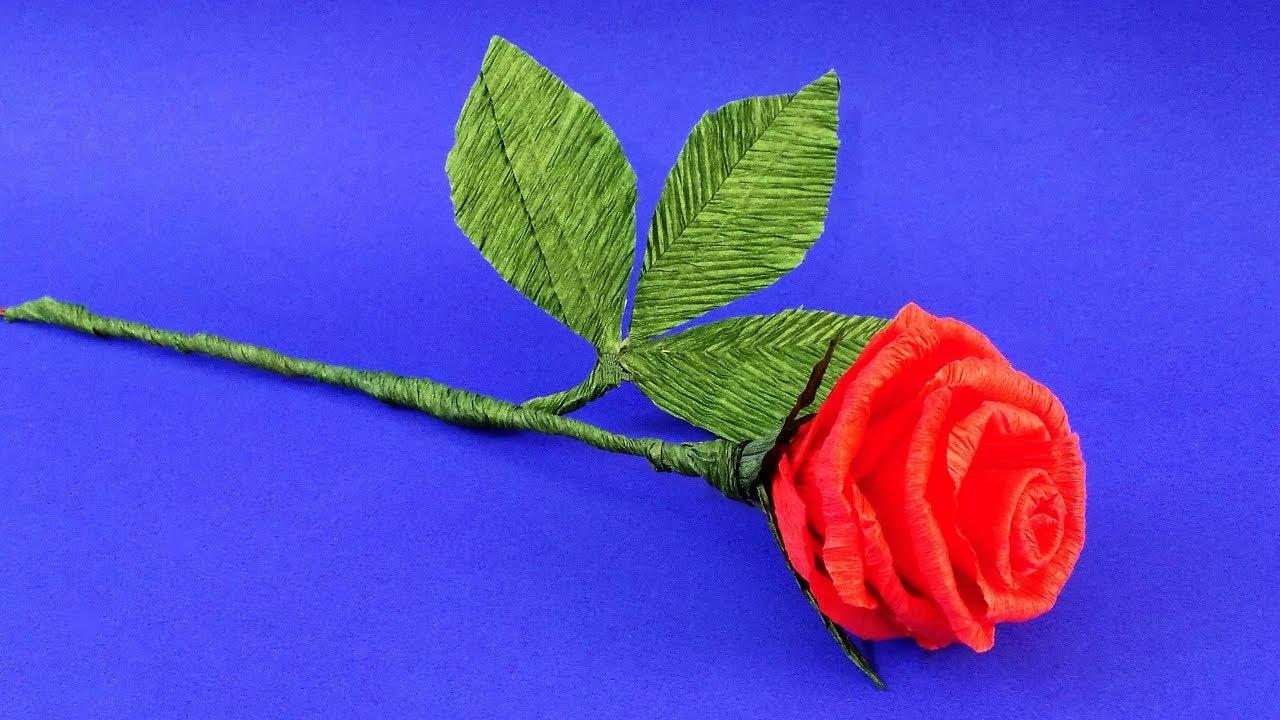 Рождения, открытки своими руками из гофрированную розу