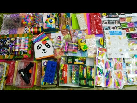 Craft stationery items / craft material/ Rare Display