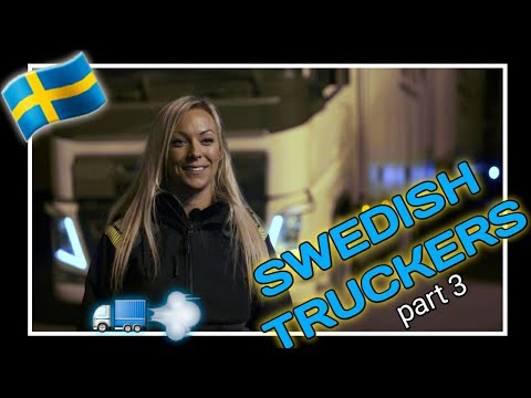 E.p 3 | SWEDISH With Subtitles - Svenska Truckers, Angelica Larsson
