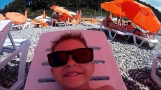 Море, солнеце, отдых, пляж...... Дагомыс 2015, наш!!!!(Снято на вот такую экшнкамеру - http://ali.pub/b9lor Купить такую камеру можно со кэшбэком зарегистрировавшись по..., 2015-09-09T19:35:33.000Z)