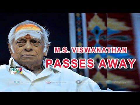 Veteran musician M S  Viswanathan passes away