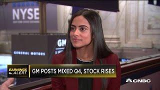 General Motors CFO breaks down mixed fourth-quarter earnings results