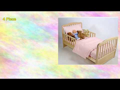 American Baby Company 100% Cotton Percale Toddler Bedding
