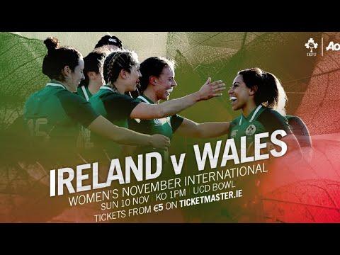 Irish Rugby TV: Ireland Women V Wales Women
