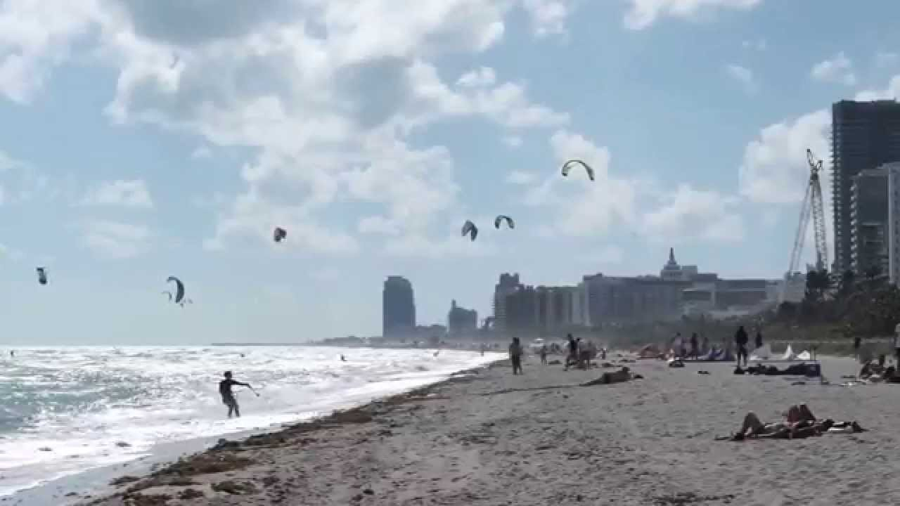Kitesurf In Miami Beach