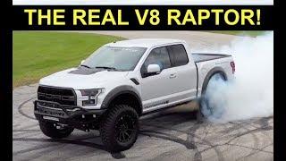 2018 Ford Raptor + 758 HP V8 = Hennessey VelociRaptor V8