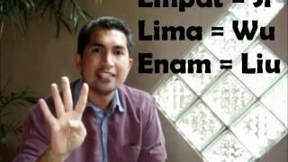 Belajar Bahasa Mandarin #6 : Nombor