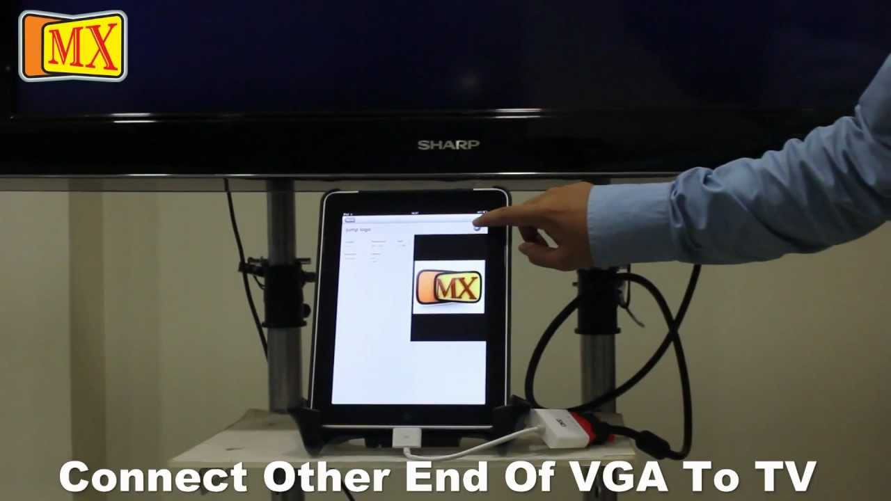 How to Connect the new iPad & iPad 2 & iPhone 4S to TV ...