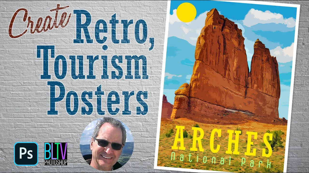 Photoshop: How to Create a Stunning, Retro Tourism Poster.
