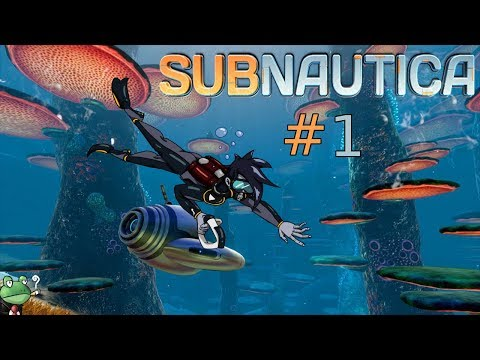 "Flik plays Subnautica | Part 1 | ""Getting my feet wet"""