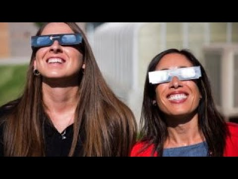 Solar eclipse glasses selling by the millions