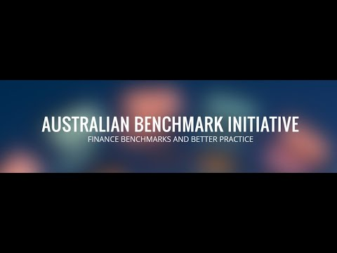 2016 Australian Benchmark Initiative 2016 launch webinar