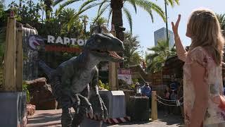 Ariana Richards Returns To Jurassic Park At Universal Studios