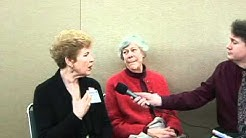 Corey Borish with Margareta Blix at the 27th Annual Alzheimer's Association Conference in Seattle