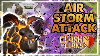 Lavaloons Air Troops Madness Attack Strategy! - Clash Of Clans Gameplay - SchoolOfClash New Update!