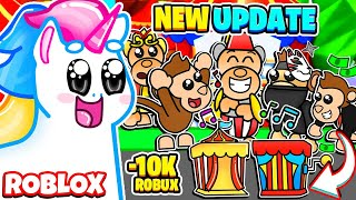 I BOUGHT *EVERY* MONKEY PET in Adopt Me! Roblox Adopt Me Fairgrounds Update