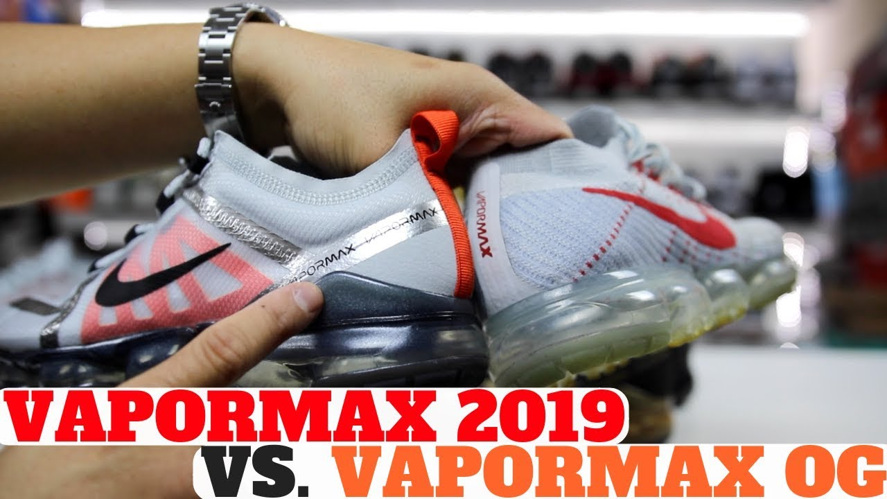 best authentic 5d2c9 d0641 Nike AIR VAPORMAX 2019 vs AIR VAPORMAX OG Comparison Review!