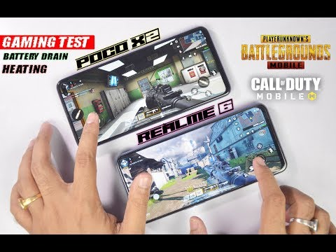 Realme 6 Vs POCO X2 Gaming Test - PUBG, Call Of Duty, Heating & Battery Drain | Honest Gaming Review