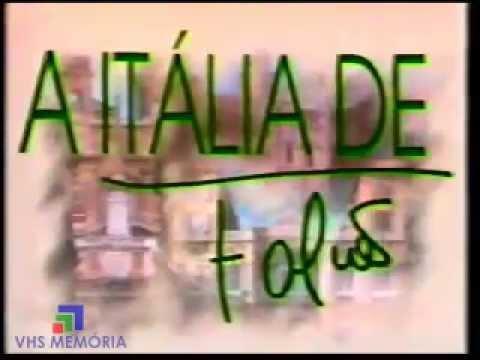 Abertura A Itália de Falcão - Rede Manchete (1990)