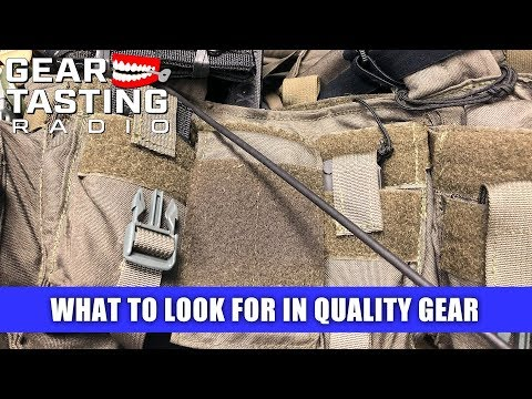 What to Look for In Quality Gear - Gear Tasting Radio 91