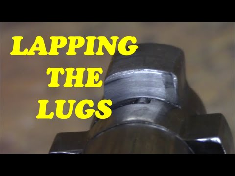Re-Barreling a Savage, lapping the lugs. Part 2