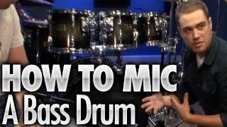 How To Mic A Bass Drum - Drum Lessons(FREE Series: Easy Drumming That Sounds Hard - http://bit.ly/PTaUB1 . Learn how to mic a bass drum in this video drum lesson. . View the resources for this ..., 2011-08-01T16:21:27.000Z)