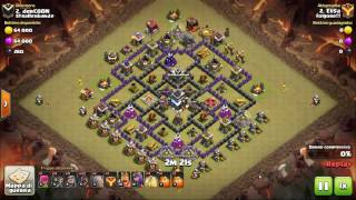 Come attaccare con gohog su Clash of Clans (TH 9)