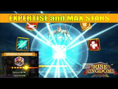 Expertise Lohar and Maxing Star Level in Rise of Kingdoms