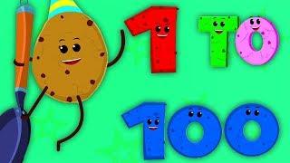 Nomor Lagu 1 Hingga 100 | Pembelajaran Nomor | Num