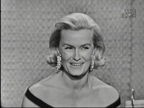 What's My Line? - Arnold Palmer; Dina Merrill; Martin Gabel [panel] (Aug 7, 1960)
