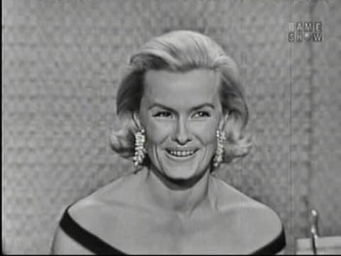 What's My Line? - Arnold Palmer; Dina Merrill; Martin Gabel [panel] (Aug 7, 1960)