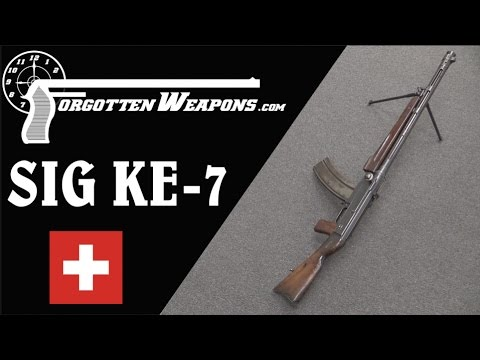 SIG KE-7 Light Machine Gun - More Complex Than Most
