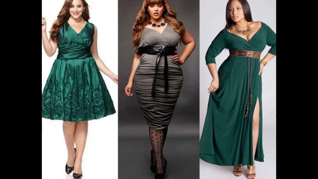 01617525099 Праздничные наряды для полных женщин - YouTube