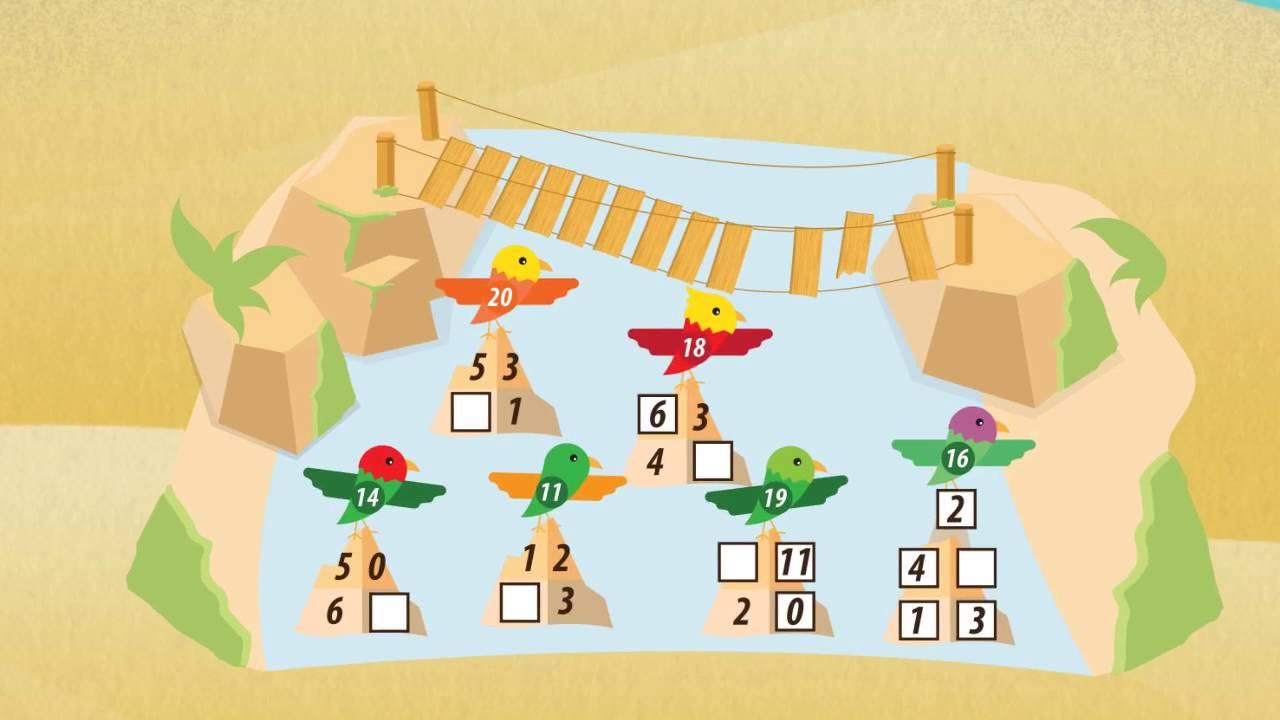 Addieren bis 20 - plus rechnen ★ Mathematik Klasse 1