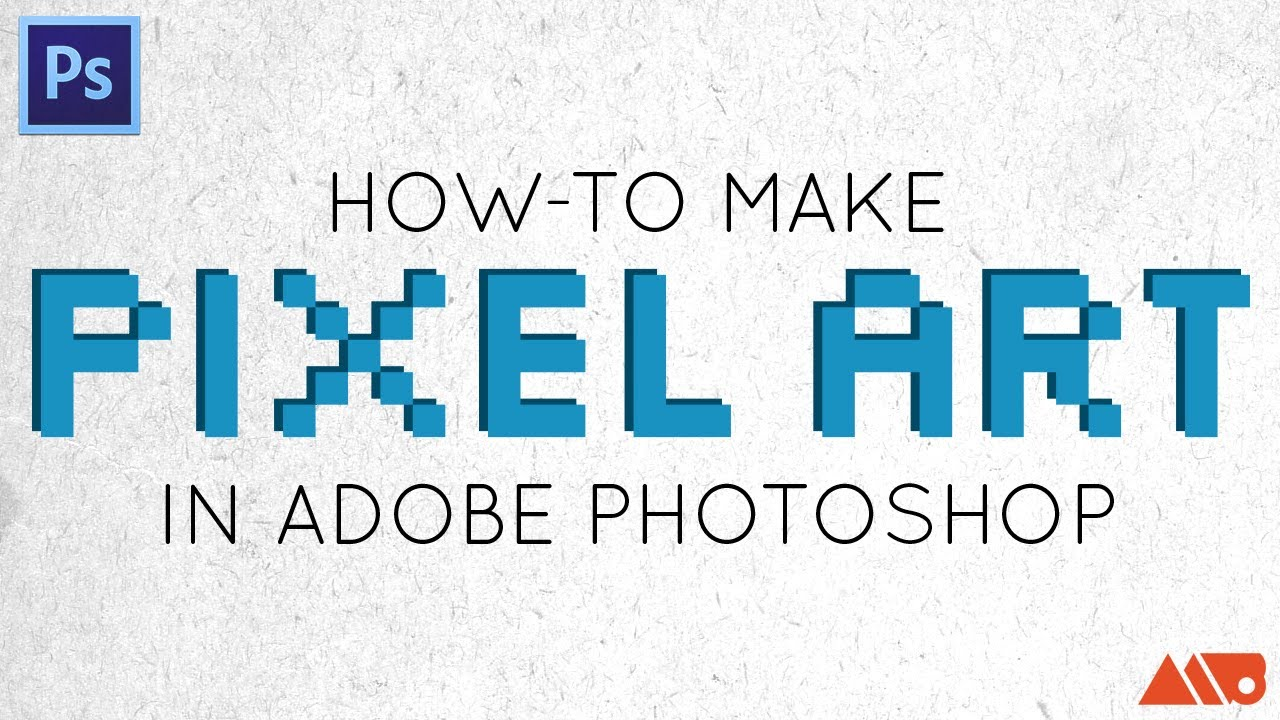 Tutorial: How-to Make Pixel Art in Photoshop