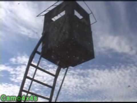 Ultimate Hydraulic Deer Stand Youtube