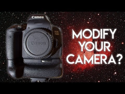 Should You Modify Your DSLR For Astrophotography?