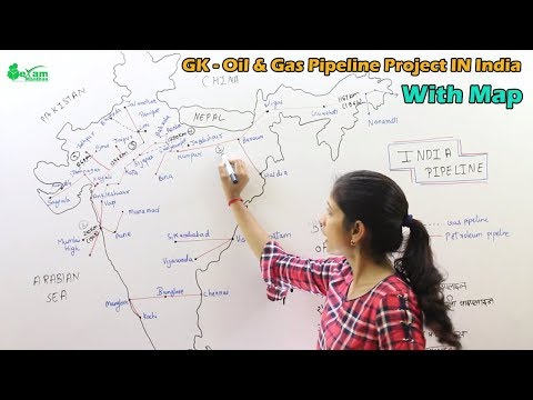 Pipeline GK - Important Pipeline In India | Indian Oil & Gas