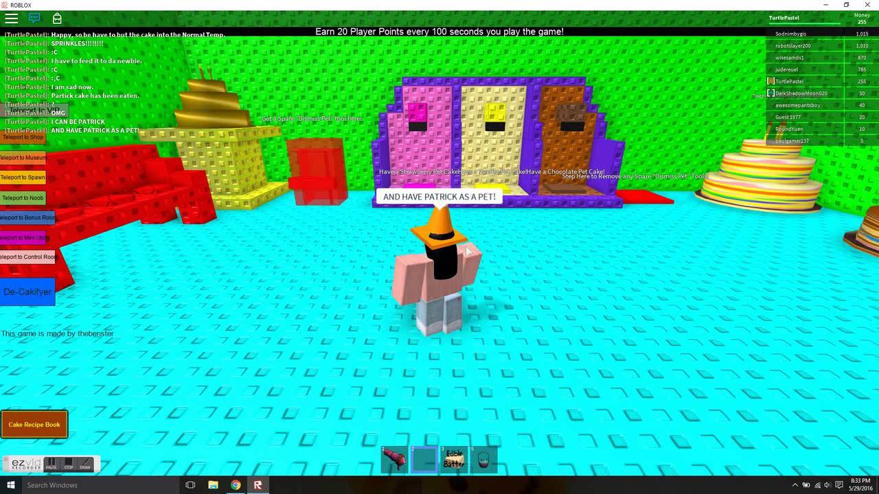Make A Cake And Feed The Giant Noob Roblox Youtube - Make A Cake And Feed It To Da Giant Noob Roblox Youtube