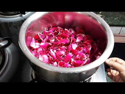 घर पर गुलाब जल बनाने का सबसे आसान तरीका |D I Y rose water | how to make rose water at home simply| thumbnail