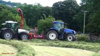 Silage Making with Trailed Forager.