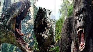 I-Rex Vs V-Rex Vs King Kong (Trailer)