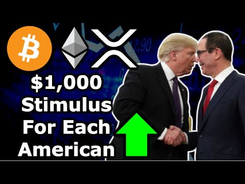 🤑 Will YOU Spend Your $1K Stimulus Check on CRYPTO? Binance India $50M - Opera Bitcoin ETH Apple Pay 2