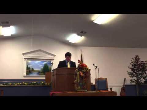 Hayden's First Sermon
