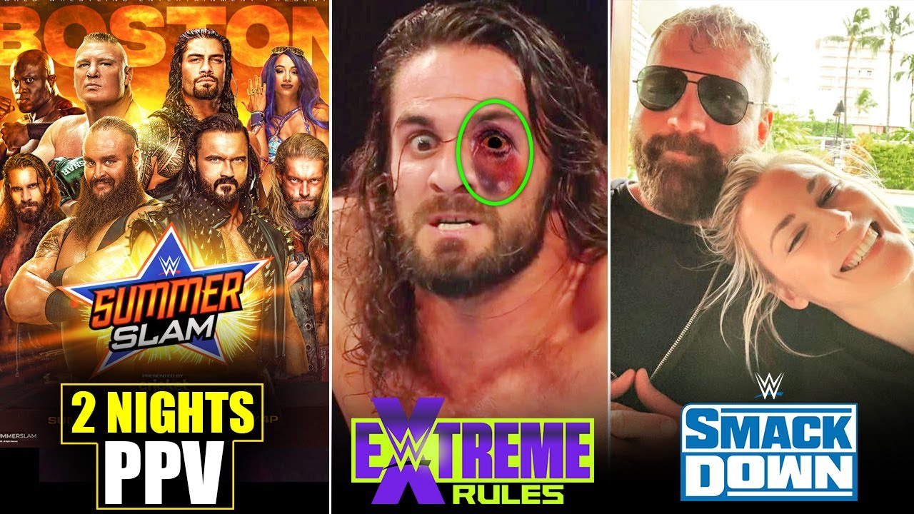 SummerSlam 2 Nights PPV🔥, Eye SPECIAL* Effect, Good News for MOXLEY, WWE Smackdown Highlights