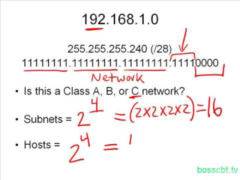 16. How To Find The Number Of Subnets  Valid Hosts