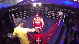 Ultra White Collar Boxing | Glasgow | Colin Campbell VS David The Lion